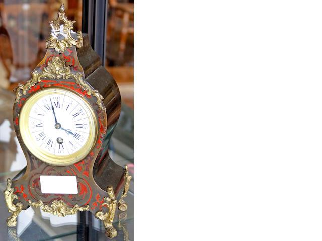 A French mantel timepiece,