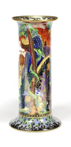 Daisy Makeig-Jones for Wedgwood 'Torches' a Fairyland Lustre Vase, circa 1920