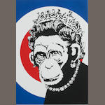 Banksy (British, born 1975) Monkey Queen, 2003