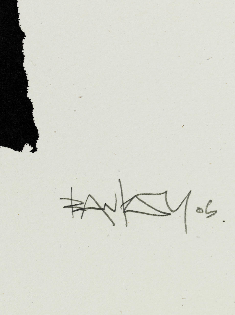 Banksy (b.1975) CND Soldiers signed, dated 05 and numbered 87/350 screenprint on paper 71 by 48 cm. 27 15/16 by 18 7/8 in.