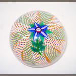 A Paul Ysart flower paperweight Harland period