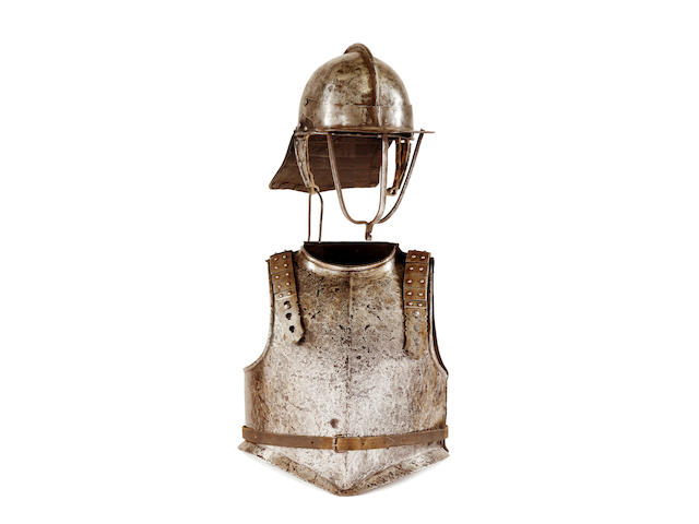 A Composite English Civil War Period Half-Armour
