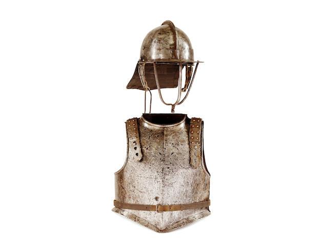 A Composite English Civil War Period Half-Armour