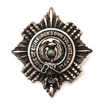 A modern Duke of Edinburgh's Own Volunteer Rifles badge