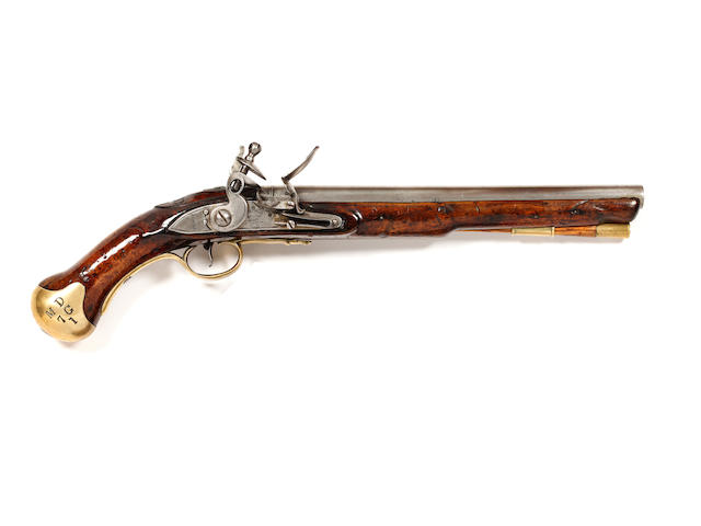 A Flintlock Sea Service Pistol