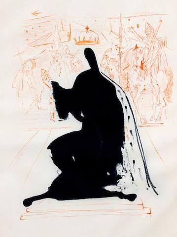 Salvador Dalí (Spanish, 1904-1989) 'King of Aragon'
