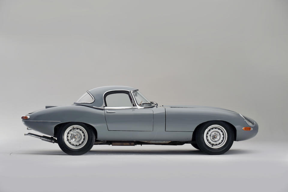 The ex-Sir Robert Ropner/Factory supplied,1964 'Semi-Lightweight' Jaguar E-Type Two-Seat Roadster with Hardtop  Chassis no. S850817 Engine no. RA1357-9S