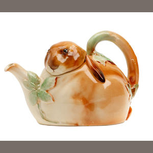 Royal Doulton Bunnykins Teapot (small losses to glaze)