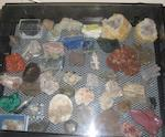 A collection of stones and minerals