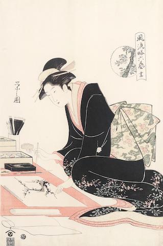 Chobunsai Eishi (1756-1829) Late 18th/early 19th century