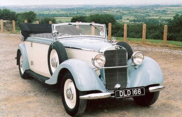 1936 Mercedes 230 Cabriolet,