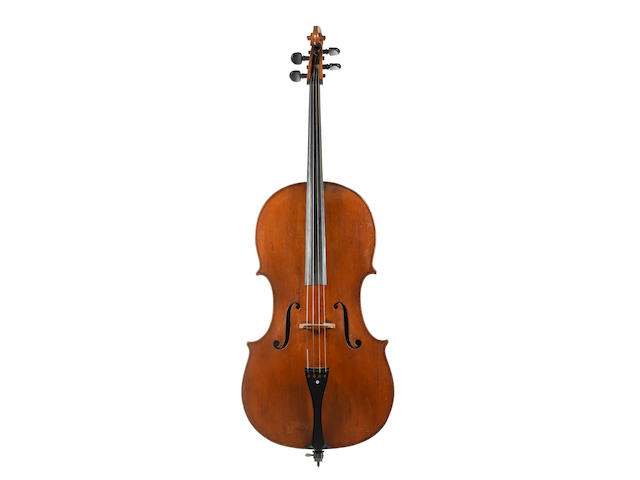 An English Cello,  Kennedy School circa 1820 (2)