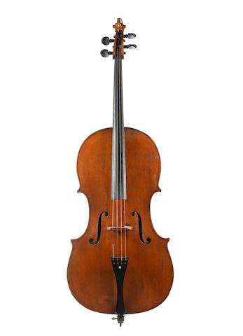 An English Cello, Kennedy School circa 1820 (2)