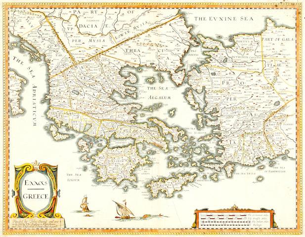 GREECE DE L'ISLE (GUILLAUME) Graeciae antiquae tabula nova, 1707