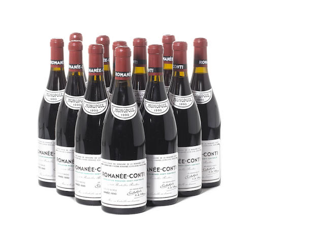 Romanée-Conti 1990 (12)