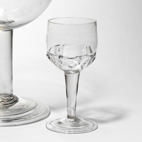 A façon de Venise plain stem wine glass