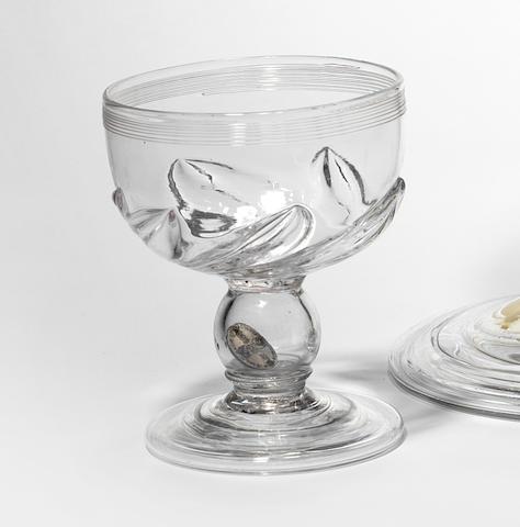 A coin goblet, circa 1760