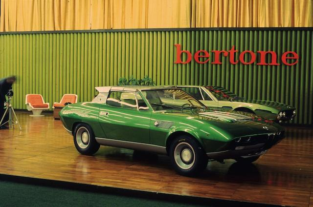 1969 BMW 2800 Spicup Bertone