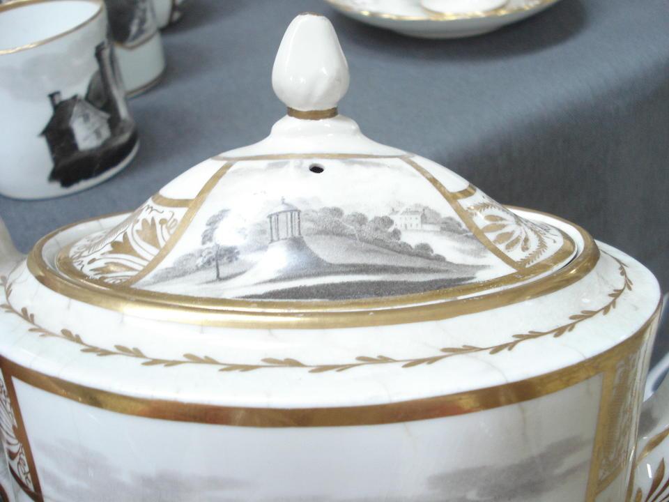 A collection of Regency porcelain