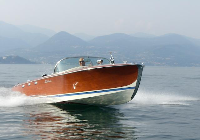 The ex Helm Gloeckler,1958 Abbate-BMW 507 V8 marine engined runabout