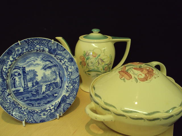 A mixed collection of English ceramics