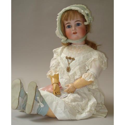 Large Kammer & Reinhardt bisque head doll