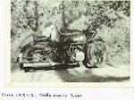 1933 Brough Superior 1,096cc 11-50hp Frame no. 8/1345 Engine no. ITZD 8/1345
