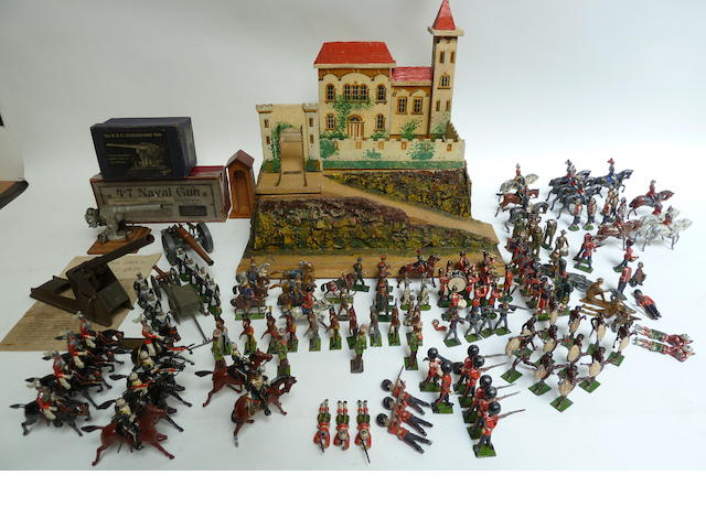 A Collection of Britains and other Toy Soldiers c.1910 126