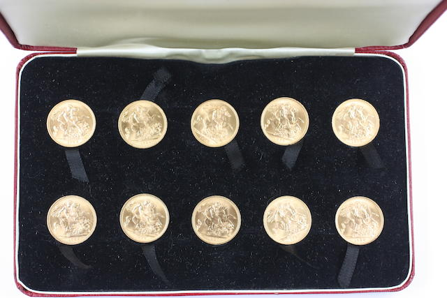 Elizabeth II: Ten sovereigns,