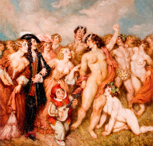 Norman Lindsay (1879-1969) To the Festival 1956