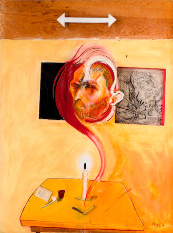 Brett Whiteley (1939-1992) Vincent 1968