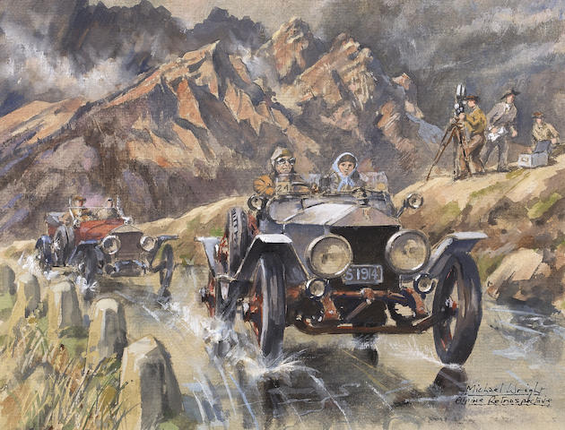 Michael Wright (1935-), '1993 RREC Alpine Commemorative Rally',