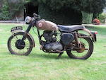 c.1955 BSA Gold Star,