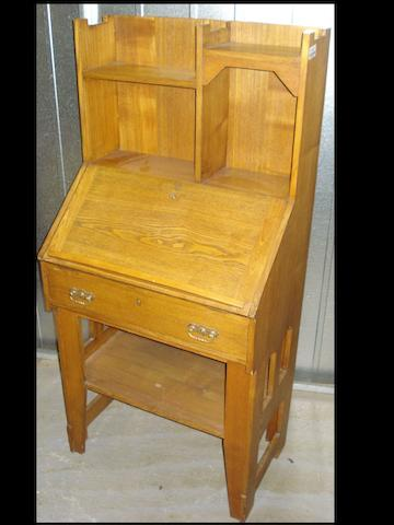 An early 20th century oak bureaufor Liberty