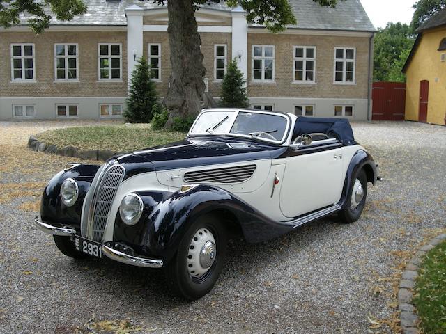 1939 BMW 327 Cabriolet  Chassis no. 79023 Engine no. 79023