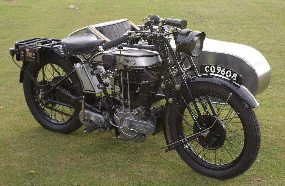 The ex-Phil Pike, ISDT and Maudes Trophy-winning,1926 Norton 588cc 'Model 19' Motorcycle Combination Frame no. 21180 Engine no. 35103