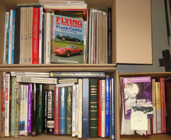 Books relating to coachwork and coachbuilding,