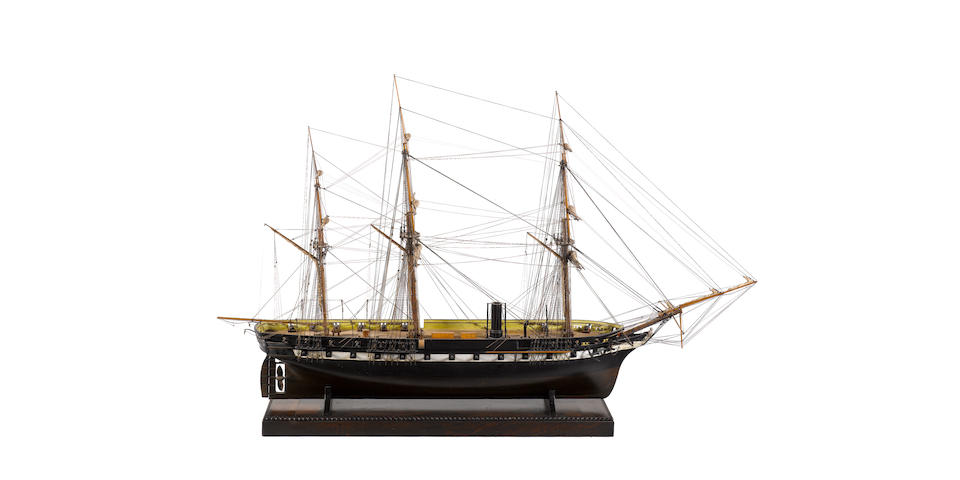 An exceptional Builder's quality contemporary model of HMS <I>Arrogant</I>