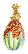 A South Staffordshire enamel scent bottle