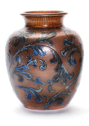 A Martin Brothers vase, 1894