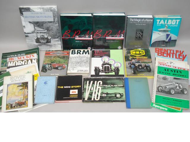 Doug Nye: B.R.M. The Saga of British Racing Motors, Volumes 1 & 2;