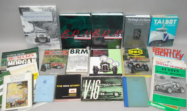 Doug Nye: B.R.M. The Saga of British Racing Motors, Volumes 1 & 2;