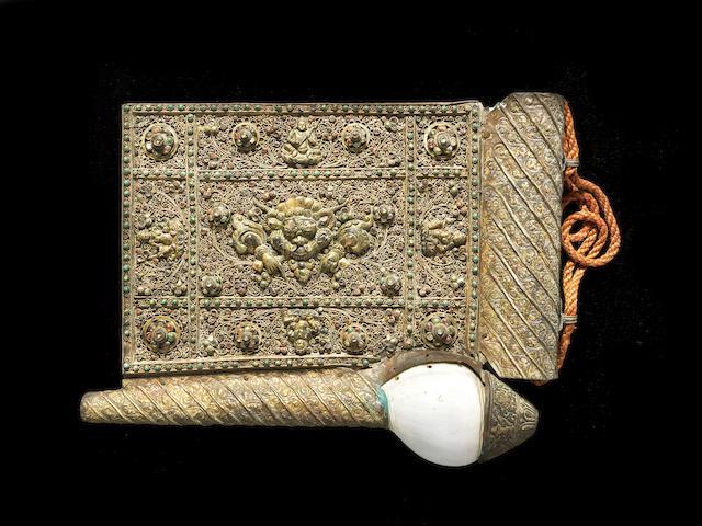 A Tibetan prayer Horn