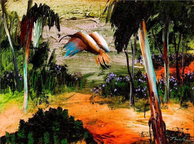 Albert Tucker (1914-1999) Ibis In Flight c.1965