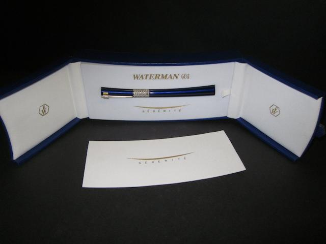 Waterman serenite roll pen - Chelsea F.C.