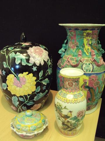 A collection of Chinese ceramics, 20th century