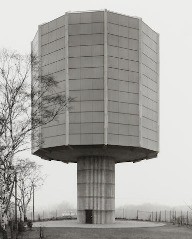 Bernd and Hilla Becher (German) Moglingen/Stuttgart, D 1980 Gelatin silver print, number 5 from an edition of 5. This work was exectued in 1993. CHECK!