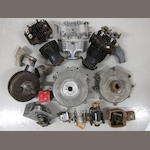 A British Anzani 8 valve engine 1098cc v-twin engine,