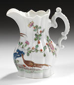 A superb Worcester milk or cream jug