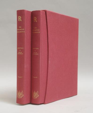 John Fasal & Bryan Goodman: The Edwardian Rolls-Royce; Volumes I and II,